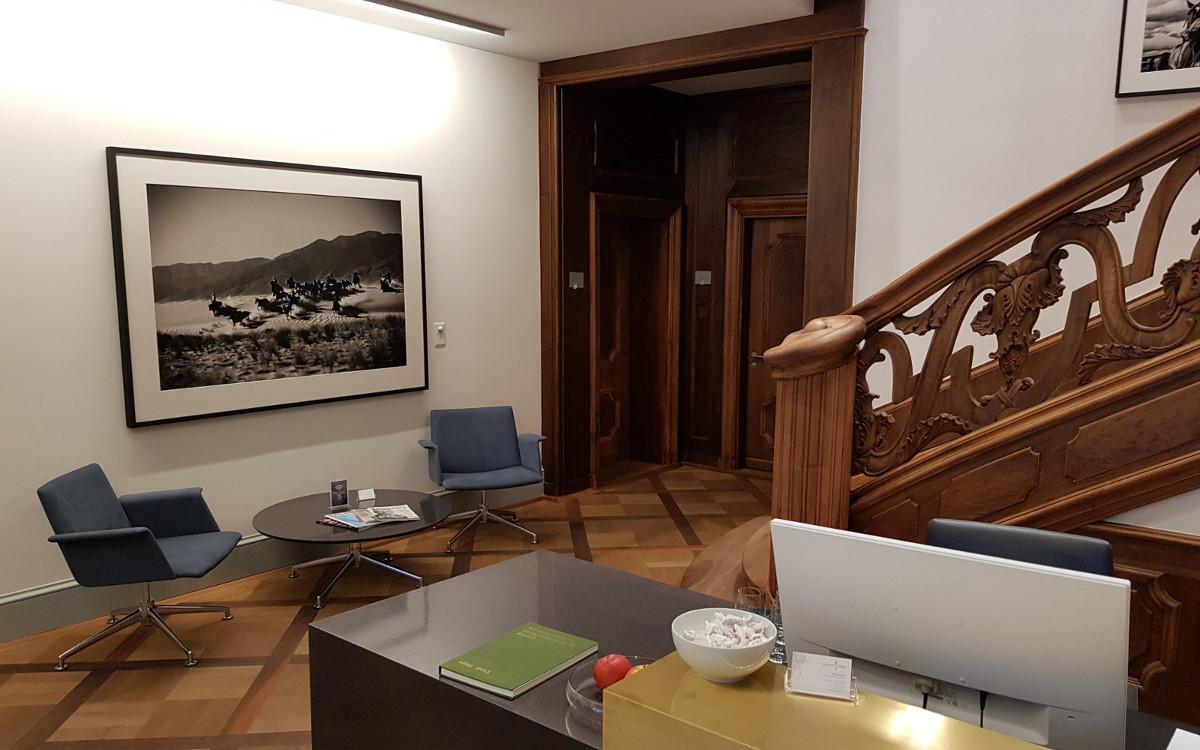 Satellite Office Reception