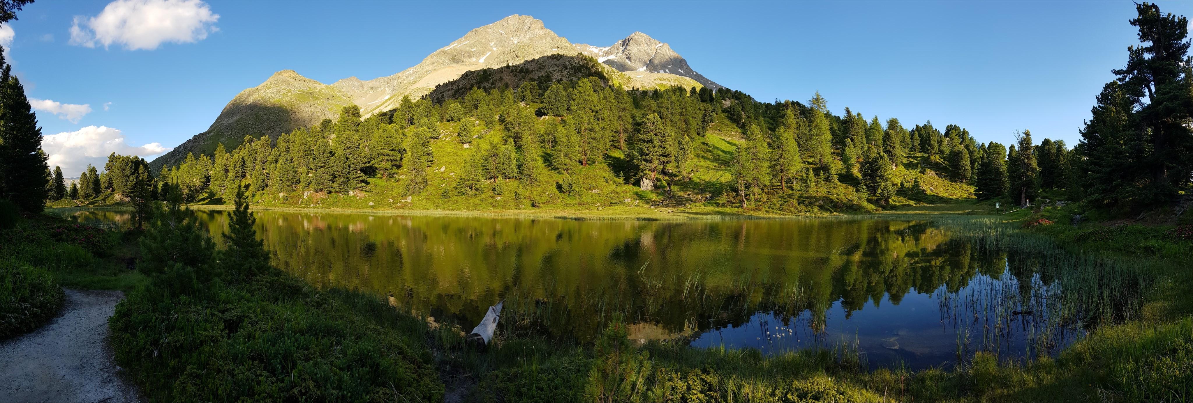 Engadine, St. Moritz, Hahnensee, Lej dals Chöds