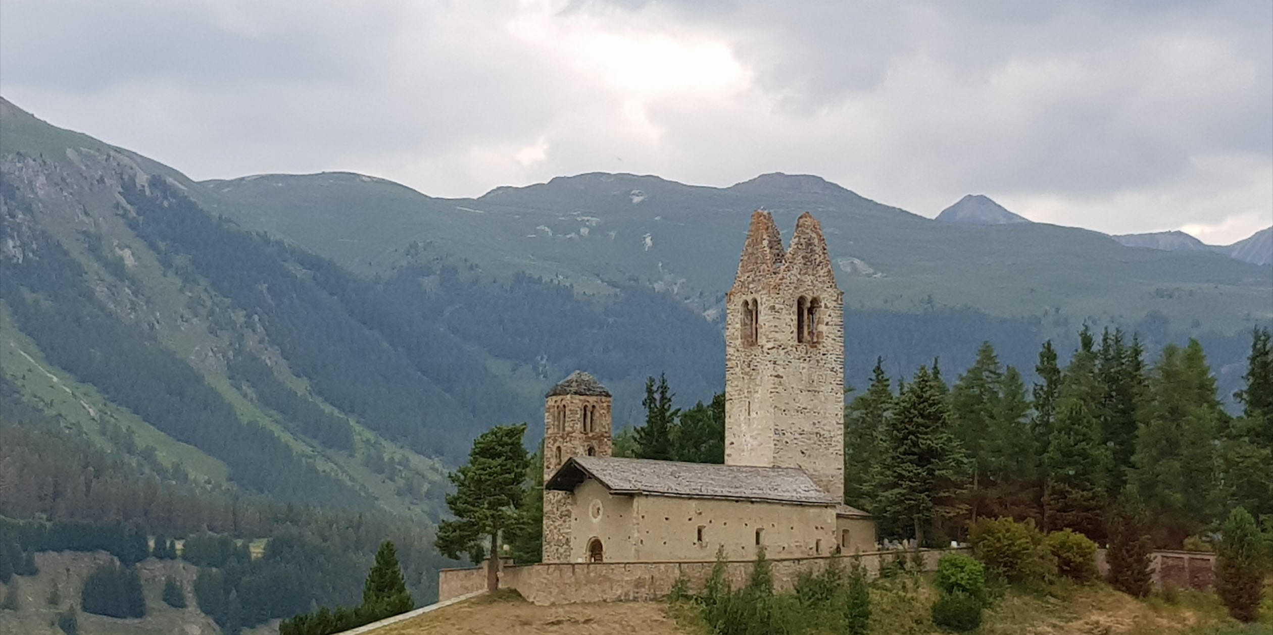 Engadine, Celerina, Church San Gian