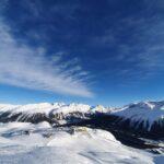 Engadine, St. Moritz, Alpinahütte view on Corviglia