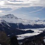 Engadine, St. Moritz, Signal view on Piz Murtel