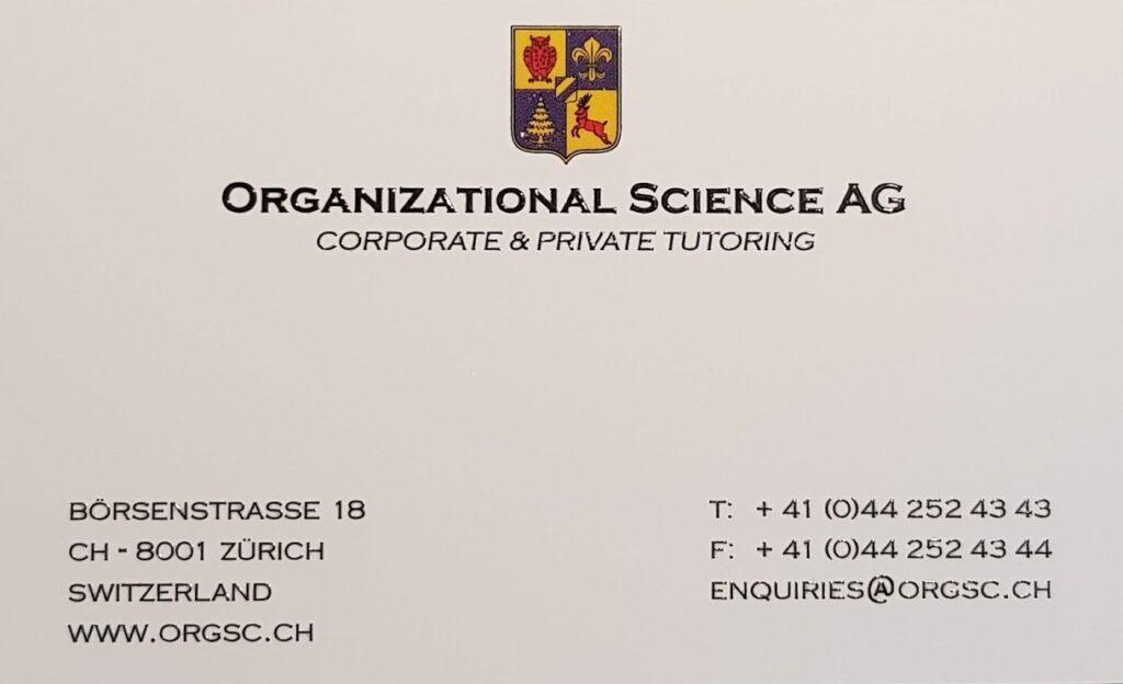 Organizational Science AG