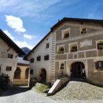 Engadine, Guarda, the home of Schellen Ursli