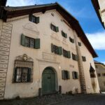 Engadine, Guarda, typical house