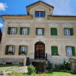 Engadine, Guarda, typical house1