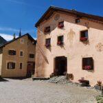Engadine, Guarda, typical houses3