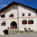 Engadine, Guarda, typical houses4