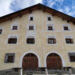 Engadine, La Punt Chamues-ch, typical house