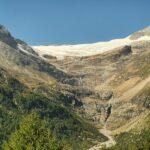 Engadine, Poschiavo, Alp Grüm, view on Palü Glacier and Piz Palü