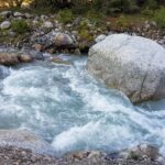 Engadine, Scuol, Val S-charl, main river Clemgia