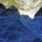 Engadine, Scuol, Val S-charl, with Piz Pisoc group