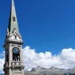 Engadine, St. Moritz, Church Tower1
