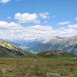Engadine, St. Moritz, Corviglia, Marguns, view in direction Val Champagna