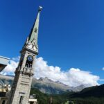 Engadine, St. Moritz Dorf, Church