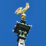 Engadine, St. Moritz Dorf, Church Tower Rooster