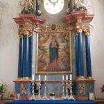 Engadine, Val Müstair, Saint John Abbey, Müstair, Chapel of Grace, altar