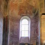 Engadine, Val Müstair, Saint John Abbey, Müstair, Church interior with Frescos two
