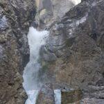Engadine, parallel Valley Sertig, Sertig water cascade 2